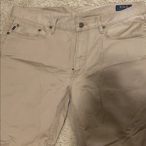Men's polo straight fit pants 34x30